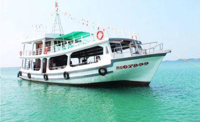 Tour Câu Cá Lặn Ngắm San Hô Phú Quốc Bằng Tàu Lớn